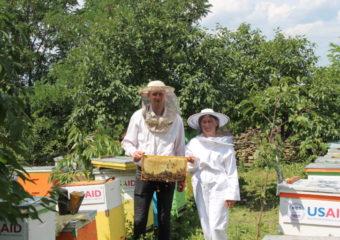FOTO. Familie de tineri apicultori: Fericirea personală trebuie să ți-o construiești în țara ta și la tine acasă