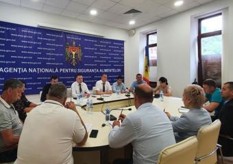 Foto: Ședința grupului de lucru la ANSA, 29 iulie 2021